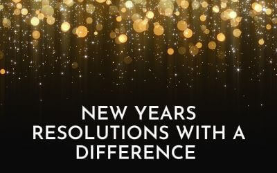 New Year's Resolutions with a difference