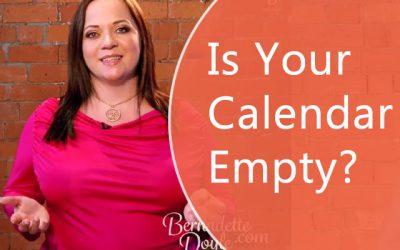 How to Solve Your Empty Calendar Syndrome