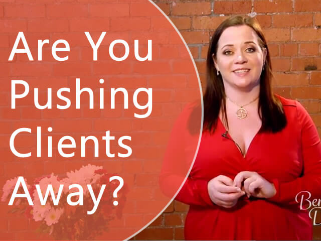 Is Your Subconscious Mind Pushing Clients Away?