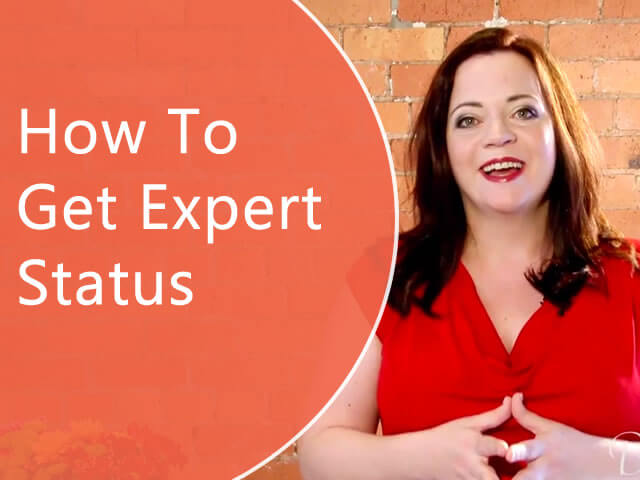 How to Get Expert Status Even If You're Just Starting Out