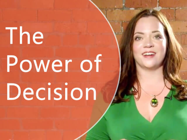 The Power of Decision: Time to Get Personal