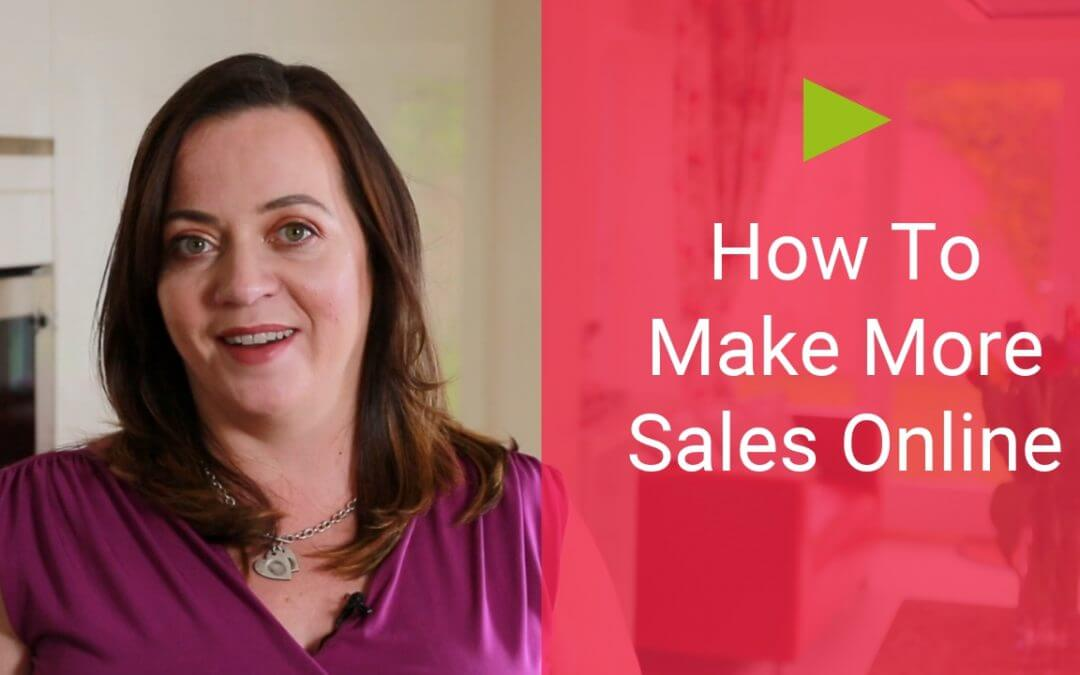 How to Make More Sales Online