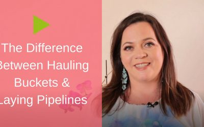 The Difference Between Hauling Buckets & Laying Pipelines