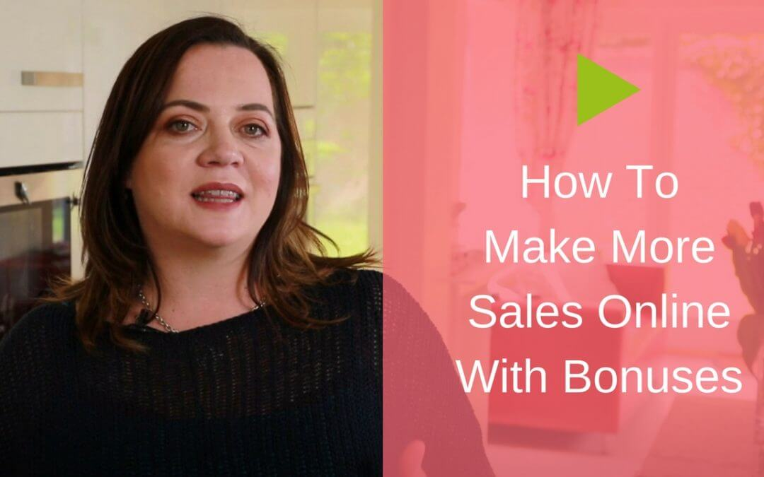 How to Make More Sales Online with Bonuses