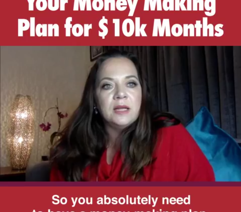 Your money-making plan for 10k months